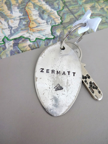 Zermatt key ring