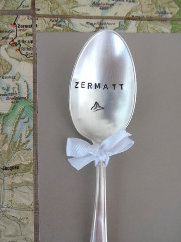 Zermatt spoon