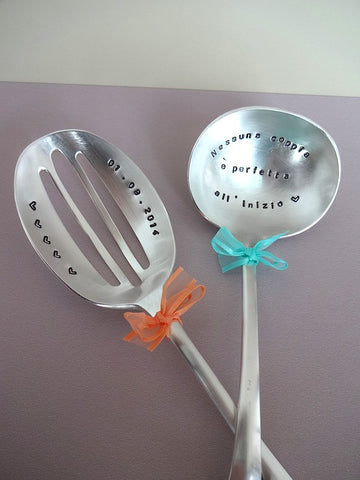 Slotted Serving Spoon and Ladle
