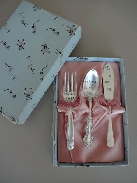 .Baby set with box