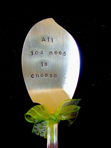 All you need is cheese