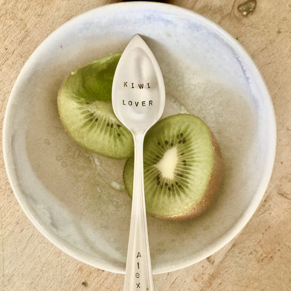 Kiwi lover 🥝 (kiwi spoon)