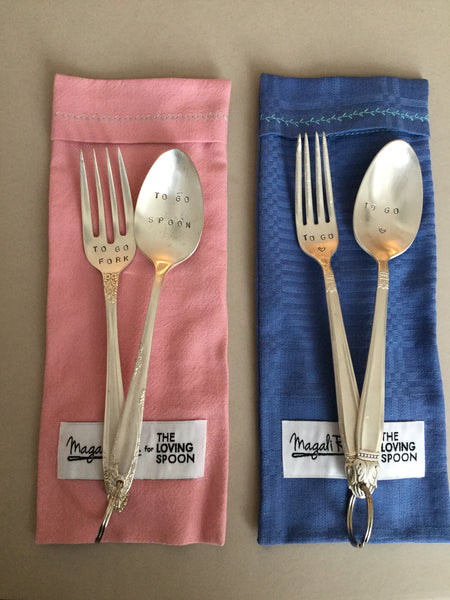 TO GO spoon & fork set
