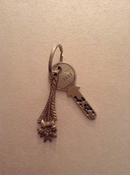 Spoon handle key ring - EDELWEISS
