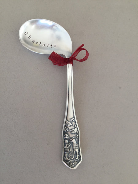 .Baby spoon Little red riding hood