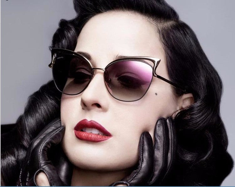 CUTE SEXY RETRO CAT EYE SUNGLASSES