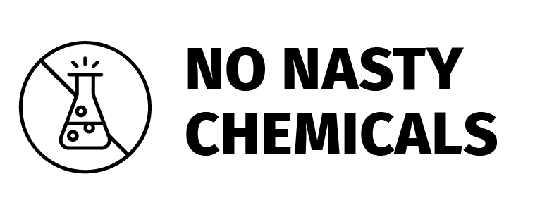 No nasty chemicals icon