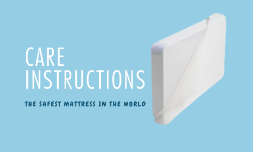 cot mattress care instructions
