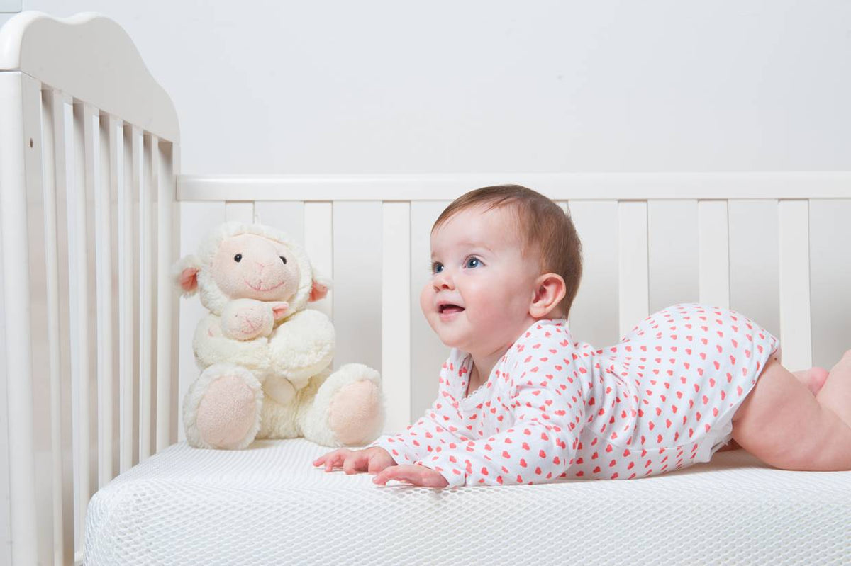 Baby on Numu mattress