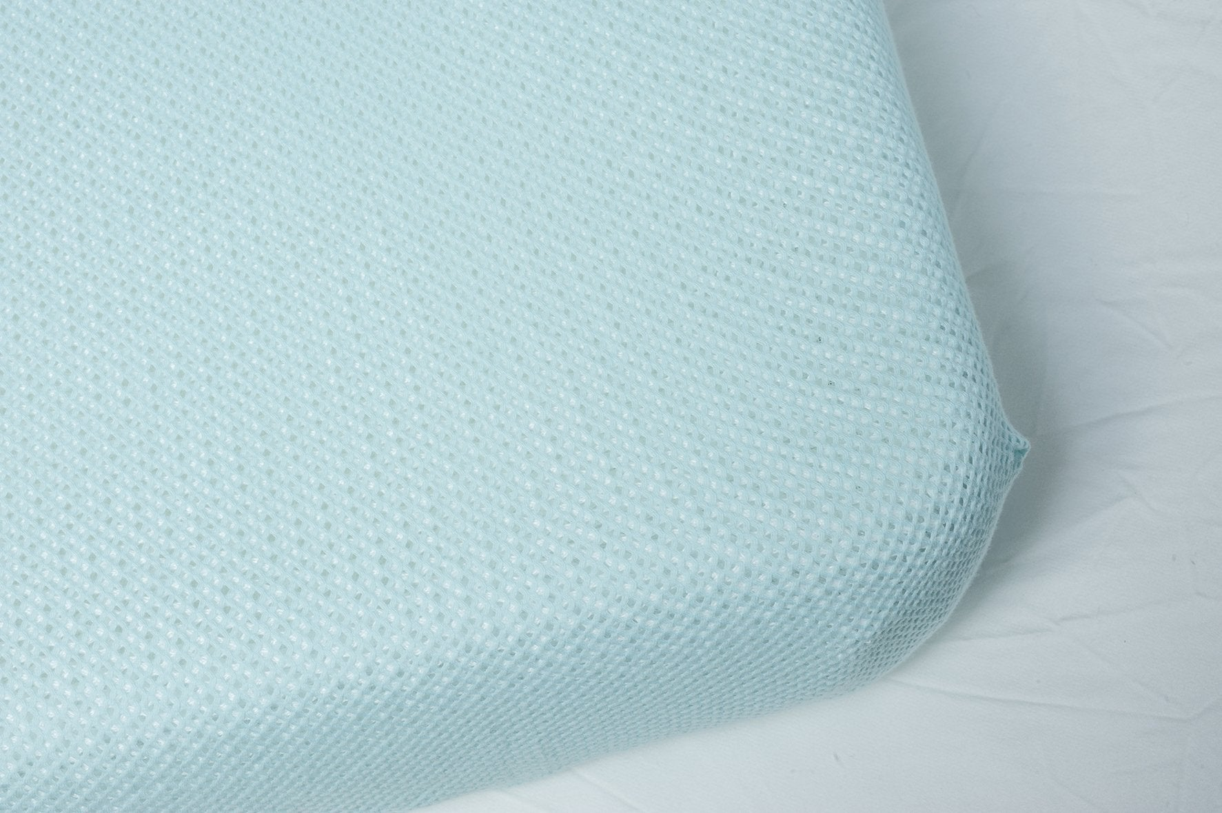 Bassinet Turquoise cotton sheet