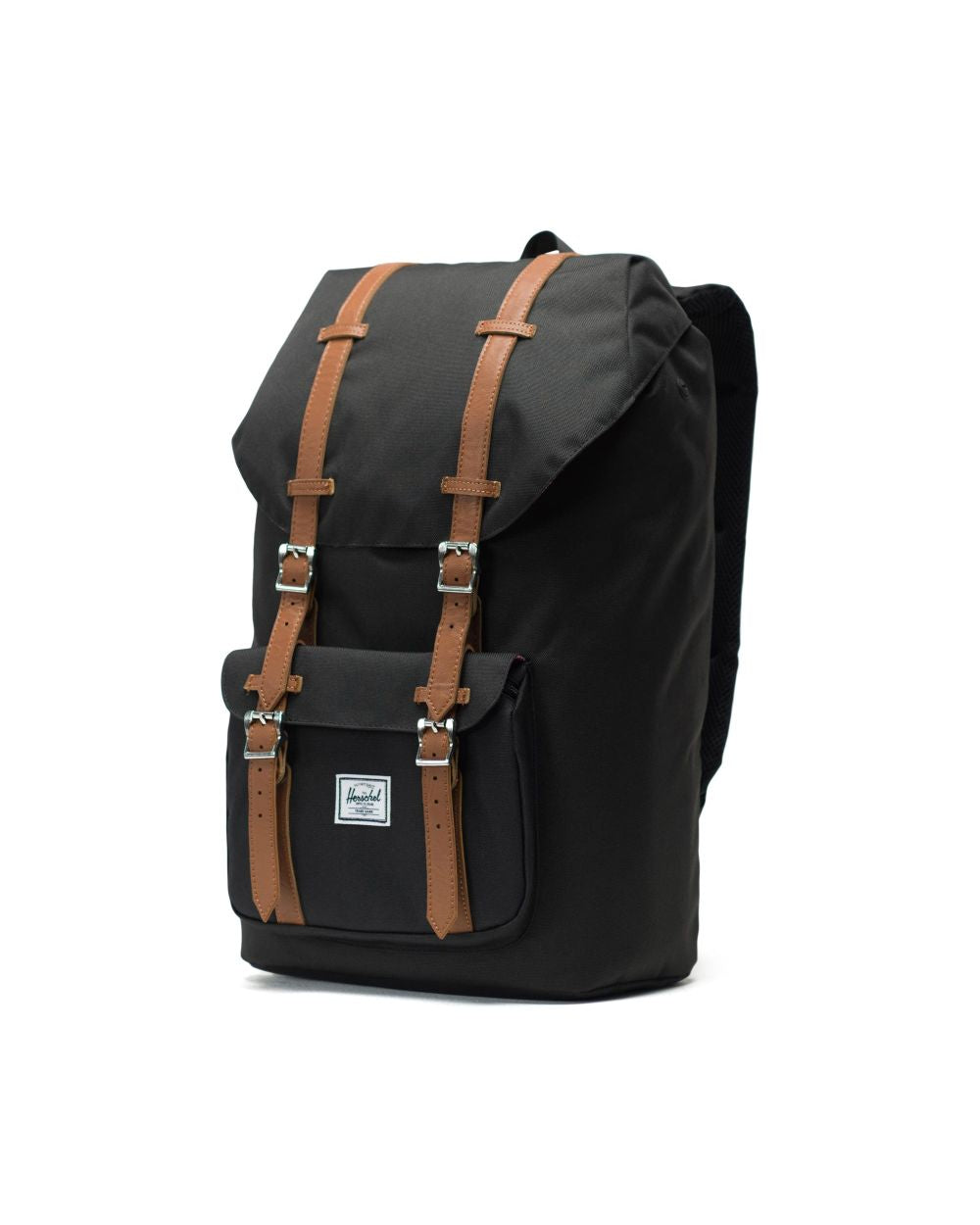 LITTLE AMERICA BACKPACK BLACK TAN