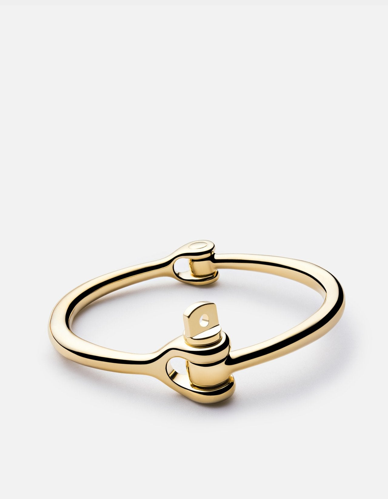 REEVE CUFF BRACELET GOLD POLISHED