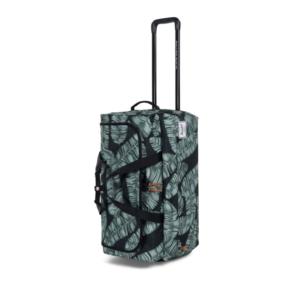 OUTFITTER LUGGAGE WHEELIE BLACK PALM
