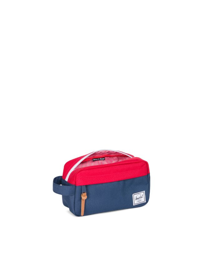 CHAPTER TRAVEL KIT NAVY RED