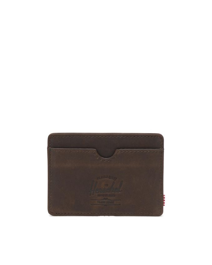 Charlie Wallet Leather Brown