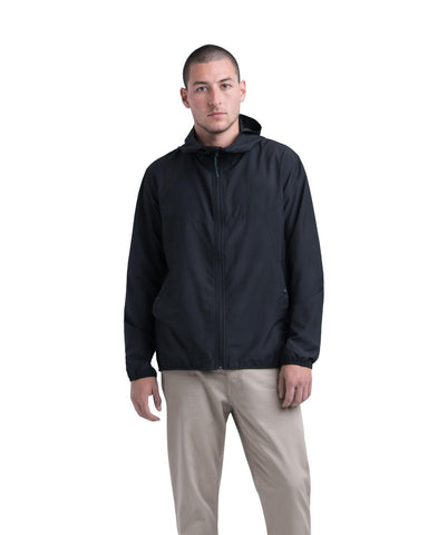 VOYAGE WIND JACKET BLACK