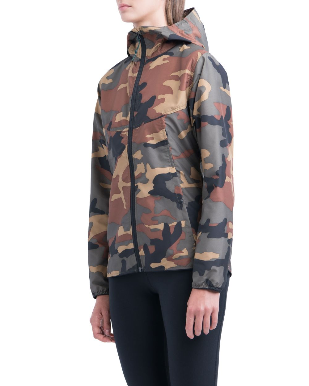 VOYAGE WIND WOMENS JACKET CAMO
