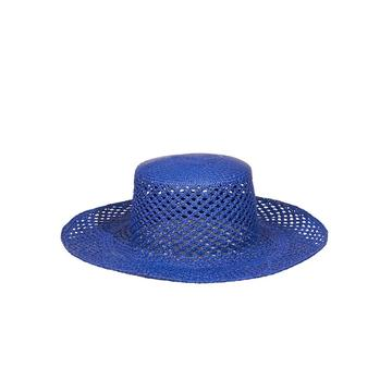 BARI HAT // ELECTRIC BLUE