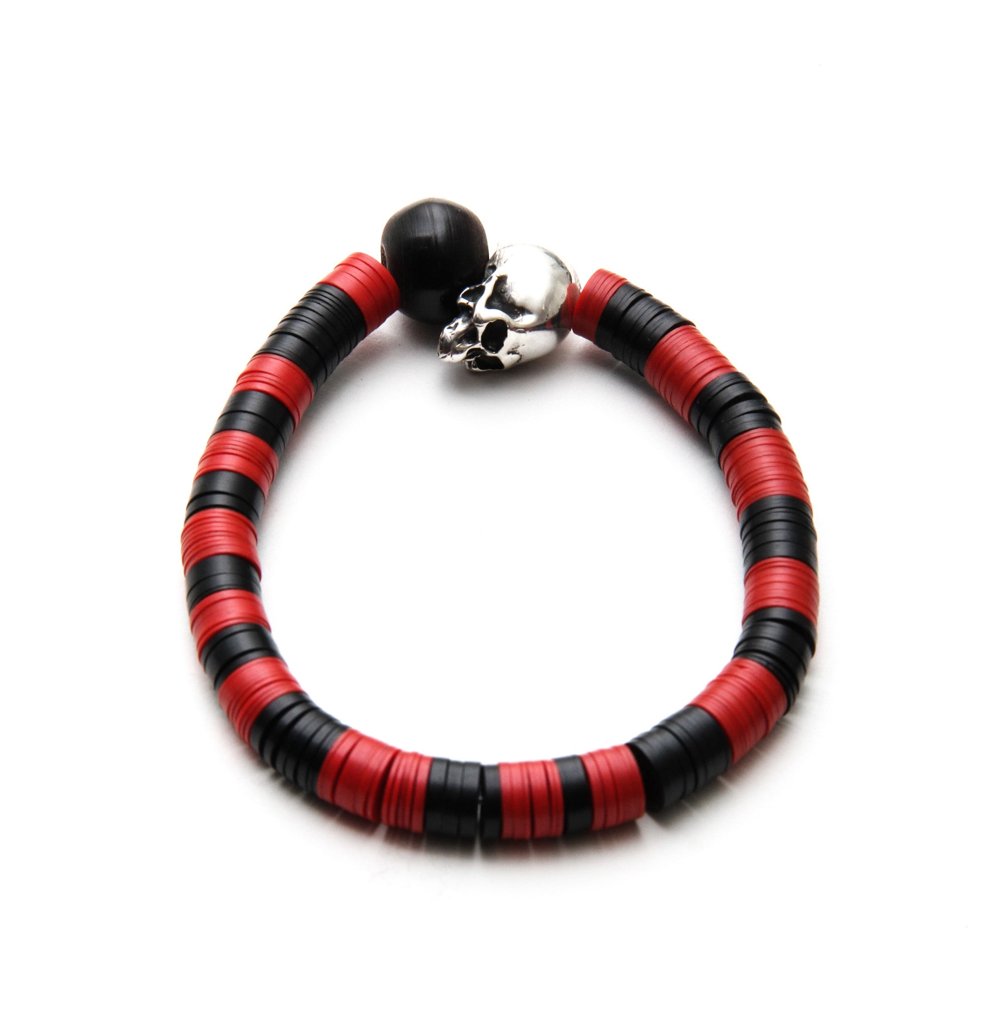 (ADD) MEMENTO MORI AFRICAN RED BRACELET