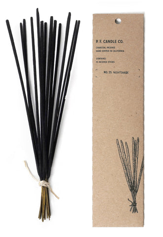 NO. 4 INCENSE : TEAKWOOD TABACCO
