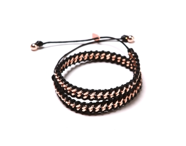 MINI ROSE GOLD LINKS 2X ROSE GOLD BLACK