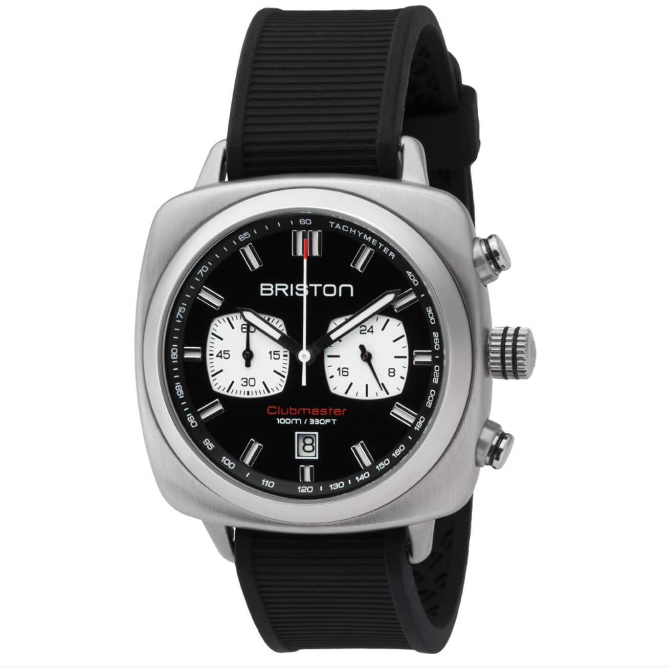 CLUB MASTER SPORT STEEL CHRONOGRAPH BLK DIAL