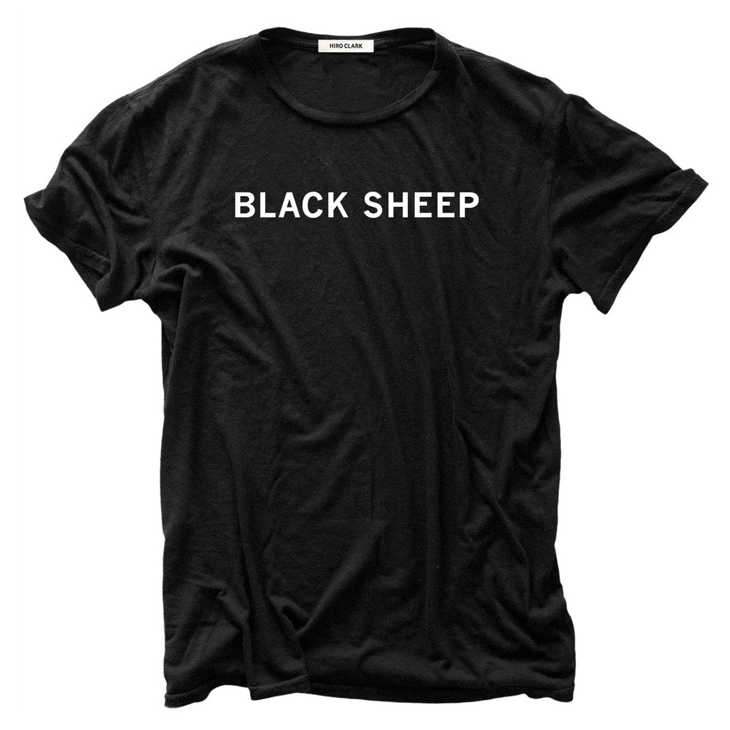 BLACK SHEEP TEE // BLACK