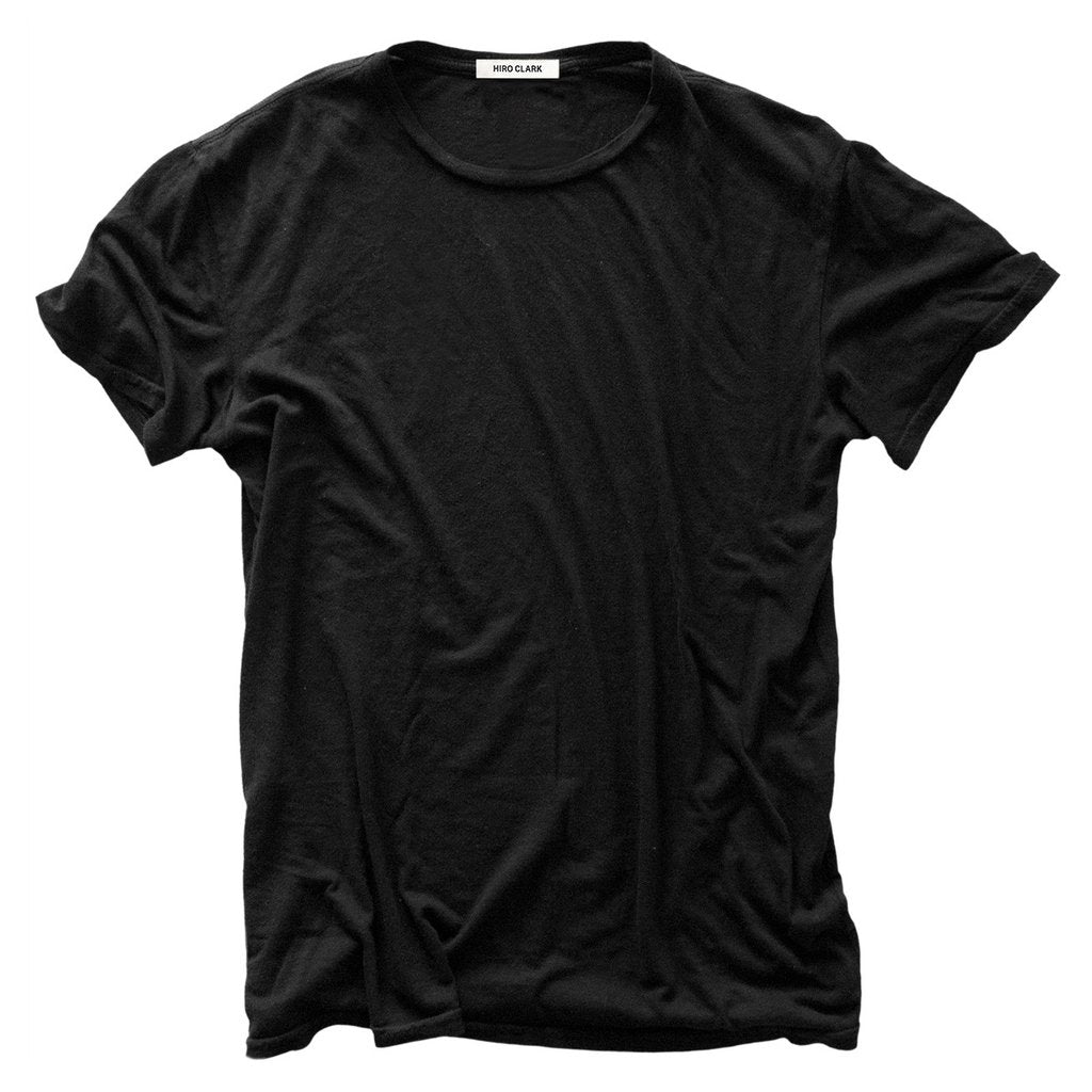 THE T-SHIRT BLACK // JERSEY