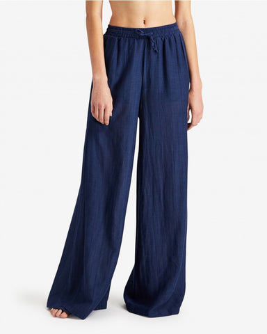 CHLOE PANTS BLUE SHADOW