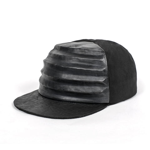 RIDGE CAP LEATHER BLACK