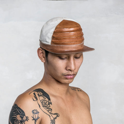 RIDGE CAP LEATHER NATURAL