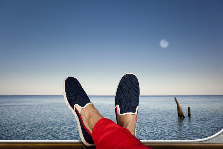 LE GRAND BLEU / RIVIERA'S SLIP ON
