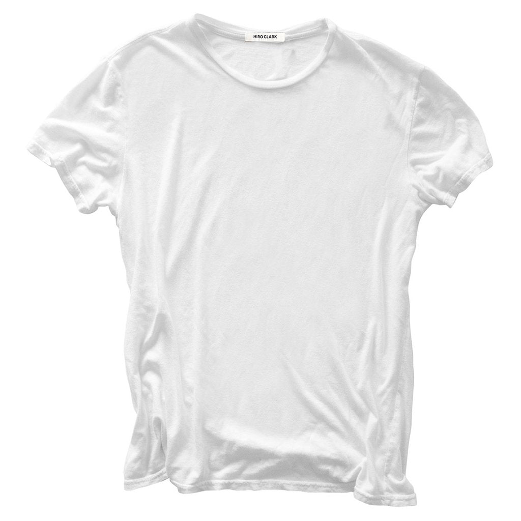 THE T-SHIRT WHITE // JERSEY