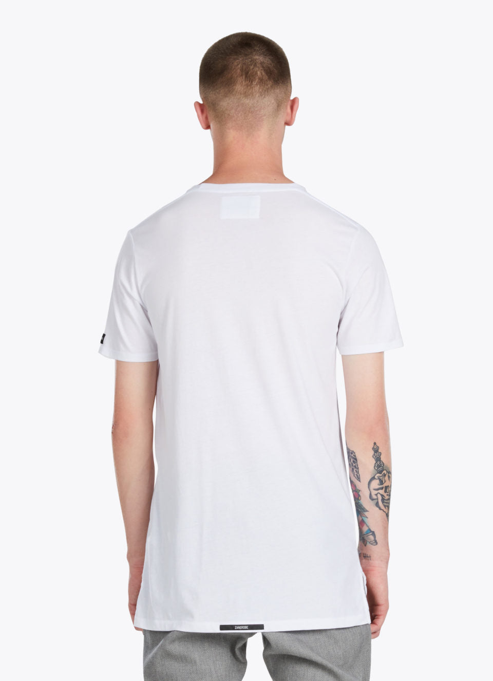 FLINT LOCK TEE WHITE