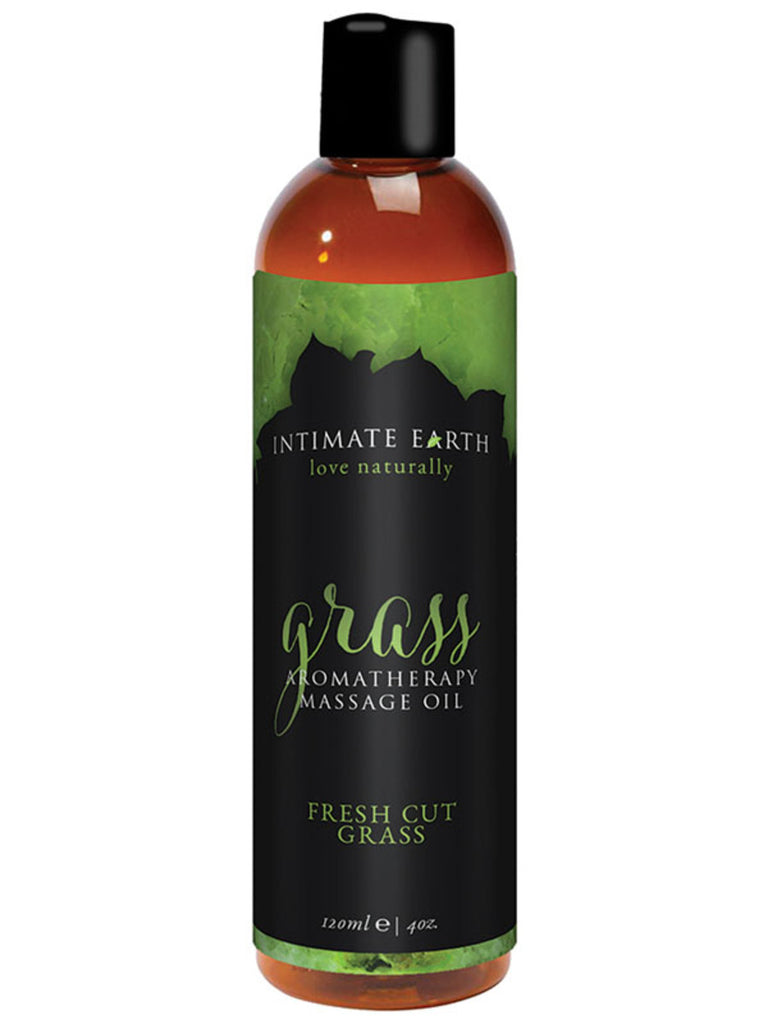 Fresh cut Grass Massage Oil by Intimate Earth