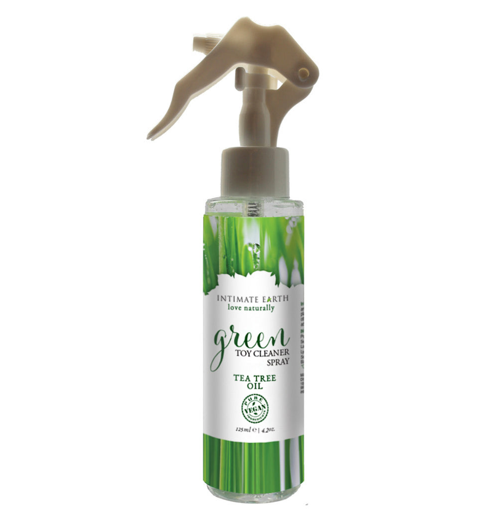 Green Tea Tree Toy Cleaner Spray 125ml by Intimate Earth