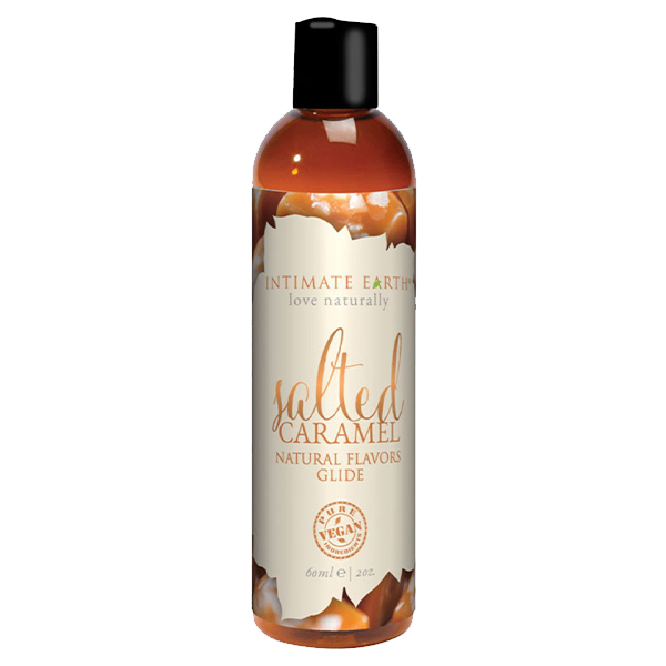 Salted Caramel Natural Flavored Glide by Intimate Earth