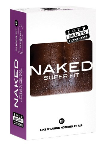 Naked Super Fit Condoms by Four Seasons Condoms