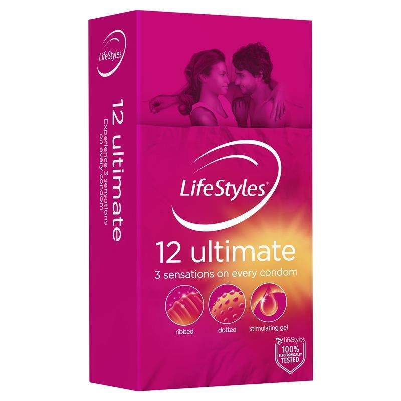LifeStyles Ultimate - 12 pack by Ansell