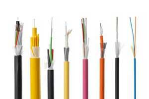 Fiber optic and copper cables
