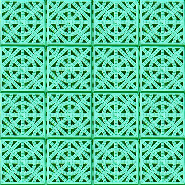 Plastic slip resistant tiles Aqua 330 (Green or Terra cotta) - US Communication Service