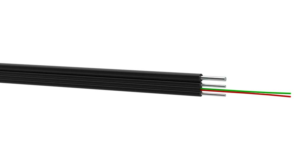 OKAD-MM aerial fiber optic drop-cable for FTTx/PON