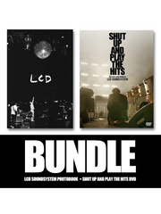 LCD Soundsystem Bundle Photobook and triple-disc DVD