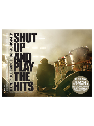 LCD Soundsystem: Shut Up And Play The Hits Poster
