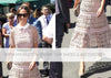 Pippa Middleton Wears Emmy London Shoes and Accessories To a Wedding and Wimbledon
