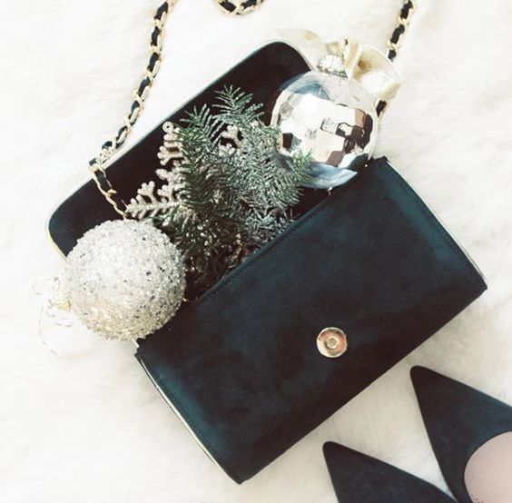 Olivia Greenery and Natasha Greenery Clutch Bag