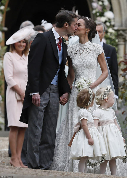 Carole Middleton at Pippa Middletons Wedding May 2017 in Emmy London