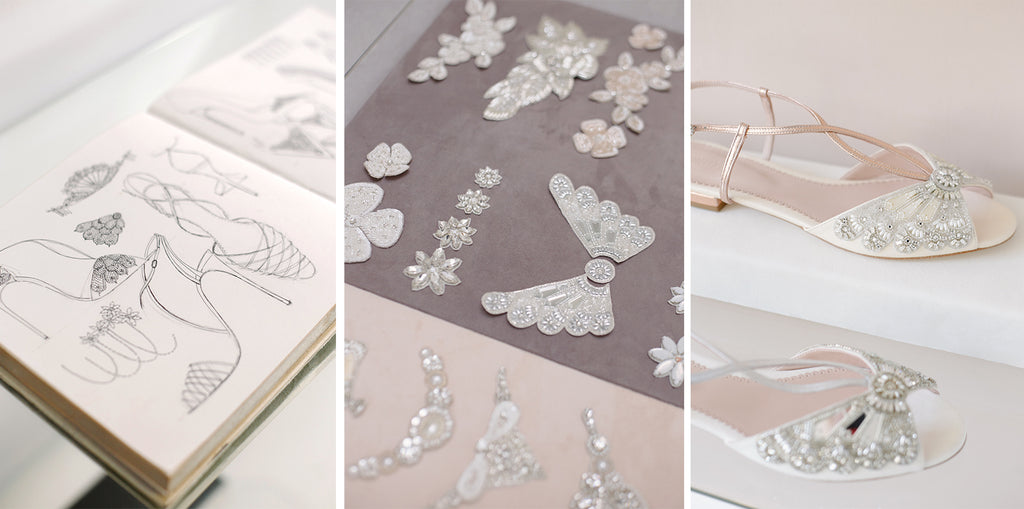 Emmy London Sketches, Embellishments and Shoes
