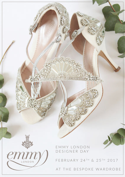 Emmy London Designer Day at the Bespoke Wardrobe