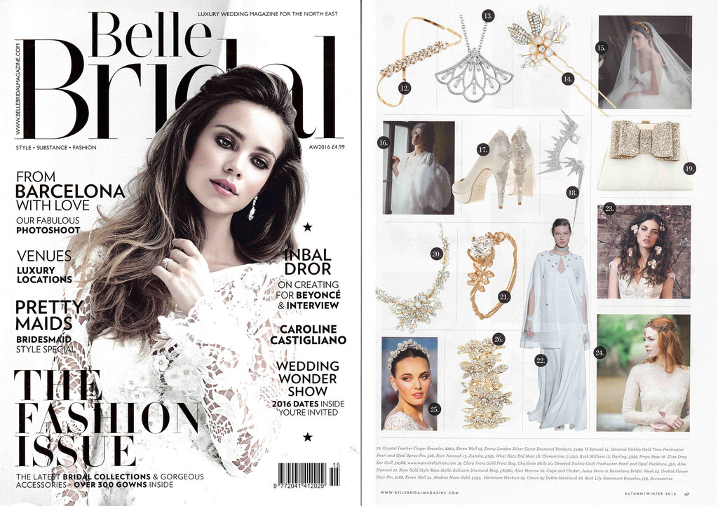Belle Bridal Emmy London Press Jewellery H Samuel